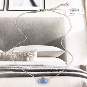 Kendra Scott Jewelry - Kendra Scott Elisa periwinkle silver necklace